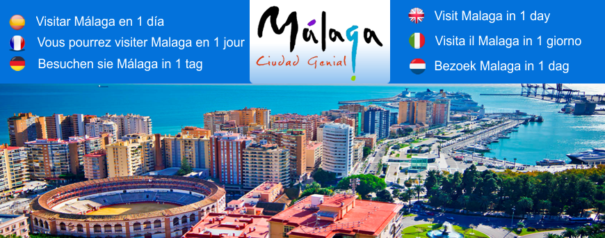 Visit Malaga in 1 day Interactive guide with Map