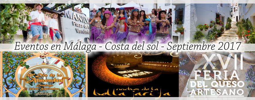 Eventos Malaga septiembre