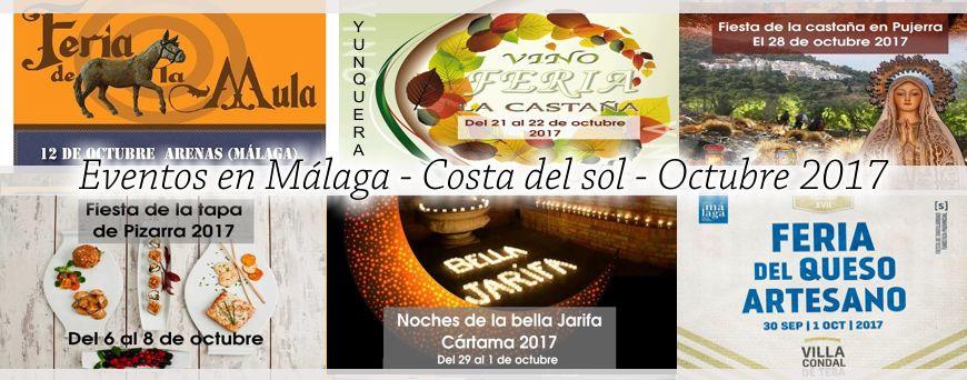 Eventos Malaga octubre