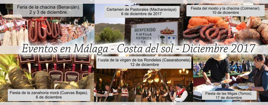 Eventos Malaga Diciembre17